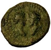Dupondius - Marcus Aurelius & Lucius Verus (Aelia Capitolina colony) – obverse
