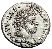 Tetradrachm - Caracalla (Laodicea ad Mare mint, 3rd Consulate, ΑΥΤ ΚΑΙ ΑΝΤΩΝΙΝΟС СΕ with a draped bust) – obverse