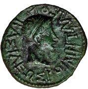 AE20 - Augustus [Rhoemetalkes I] – reverse