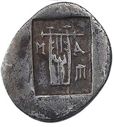 Hemidrachm -  Masikytes (Lycian League) – reverse