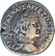 Tetradrachm - Vespasian (Antioch Mint) – obverse