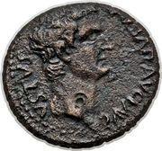 As - Tiberius (Macedonia) – obverse