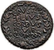 As - Tiberius (Macedonia) – reverse