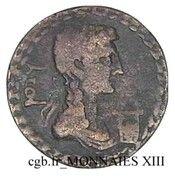 Dupondius - Tiberius (TI CAESAR AVGVSTVS ; Syrtica, Oea) – reverse