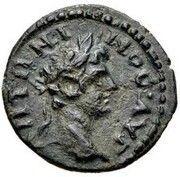 AE15 - Caracalla (NIKAIEΩN; Bithynia) – obverse