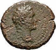 AE20 - Antoninus Pius (NIKAIEΩN; Nicaea) – obverse