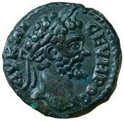 AE16 - Septimius Severus (NIKOΠOΛIT ΠΡOC ICTΡ; Nicopolis ad Istrum) -  obverse