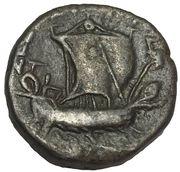 1 Tetradrachm - Nero (Alexandria; year 13) – reverse