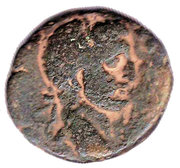 AE - Hadrian (Ascalon mint) – obverse