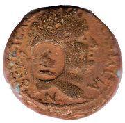 AE - Vespasian (Gadara mint) – obverse