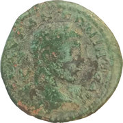 Assarion - Elagabalus (NIKAIEΩN; Nicea mint) – obverse
