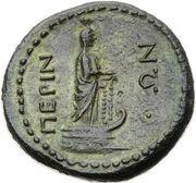 As - Nero (Perinthos mint) – reverse