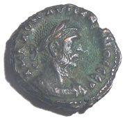 Tetradrachme Aurélien (ΕΤΟΥϹ ς, aigle vers la gauche avec tête à droite ; atelier d'Alexandrie) – obverse