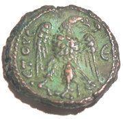 Tetradrachme Aurélien (ΕΤΟΥϹ ς, aigle vers la gauche avec tête à droite ; atelier d'Alexandrie) – reverse