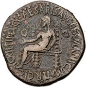 Sestertius - Caligula (Apamaea) – reverse