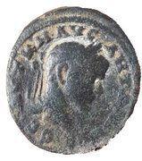 Bronze ELAGABAL Antioche, Syrie, Séleucie et Piérie – obverse