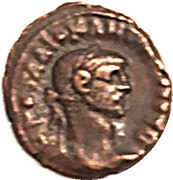 Tetradrachme - Diocletien -Athéna – obverse