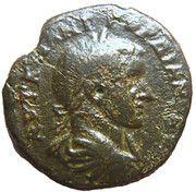 Triassaria -Gordien III . ( Hadrianopolis ) – obverse