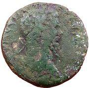 Tetrassaria - Septimius Severus (Asklepios in a temple, Nikopolis ad Istrum mint) – obverse
