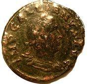 Sestertius - Gallienus (P M S COL VIM, Viminacium colony) – obverse