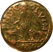 Sestertius - Gallienus (P M S COL VIM; Viminacium) -  obverse