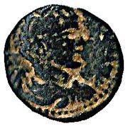 Elagabalus Bronze - PETRA COLONI – obverse