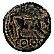 Elagabalus Bronze - PETRA COLONI -  reverse