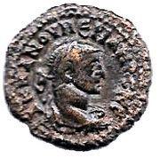 Tetradrachm - Numerianus (Dikaiosune - Æquitas, Alexandria mint) – obverse