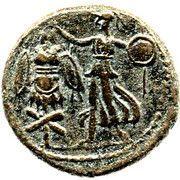 AE 23 - Domitian (Judaea Capta) – reverse