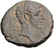 As - Augustus (Gaza) – obverse