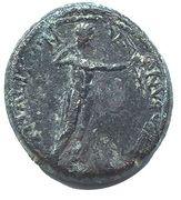 AE18 Unit - Nero & Agrippina (Synaus) – reverse