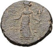 As - Augustus (Gaza) – reverse