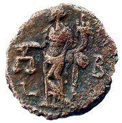 Tetradrachm - Diocletianus (Aequitas) – reverse