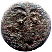 Prutah (Tyre) – reverse