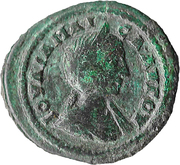 Triassaria - Julia Maesa (Demeter and Persephone; Odessos) – obverse