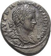 Tetradrachm - Elagabal (Eagle, Antioch mint) – obverse