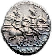 Denarius (Lucretia: Gneius Lucretius Trio; TRIO / CN•LVCR ROMA) -  reverse