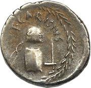 Denarius (Carisia: Titus Carisius; MONETA / T•CARISIVS) -  obverse