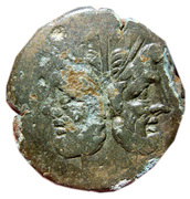 As semiuncial - Anonymous (ROMA) – obverse