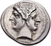 Quadrigatus (Anonymous; ROMA) – obverse
