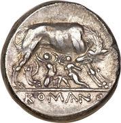 Didrachm (Anonymous; ROMANO) – reverse