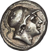 Didrachm (Anonymous; ROMA) – obverse