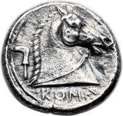 Didrachm (Anonymous; ROMA) – reverse
