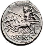 Quadrigatus (Anonymous; ROMA) – reverse