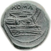 Quartuncia (Anonymous; ROMA) – reverse