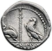 Denarius - Pompeius Magnus (VARRO•PRO•Q / MAGN•PRO COS) -  reverse