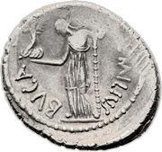 Denarius - Julius Caesar (CAESAR•IM P M / L•AEMILIVS BVCA) -  obverse