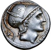 Denarius (Quintus Lutatius Cerco; Q LVTATI / Q.) -  obverse