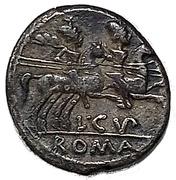 Denarius (Cupiennia: Lucius Cupiennus; L C VP ROMA) -  obverse