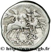 Denarius (Aelia: Caius Aelius, X/C. AL ROMA) – reverse